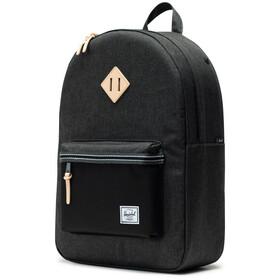 Herschel Heritage Backpack 21,5l black crosshatch/black